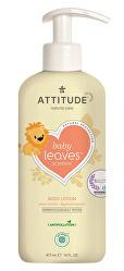 Dětské tělové mléko Baby Leaves s vůní hruškové šťávy 473 ml