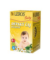LEROS Baby Dětský čaj Bylinný 20 x 1.8 g