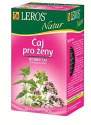 LEROS Natur Čaj pro ženy 20 x 1.5 g