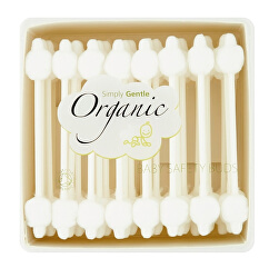 Organické dětské vatové tyčinky Simply Gentle (56 ks)
