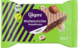 Oříšková vafle, Bio 22 g