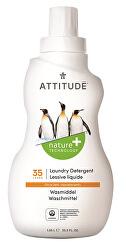 Prací gel Nature+ s vůní citronové kůry 1050 ml (35 pracích dávek)