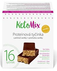 Proteinové tyčinky s příchutí vanilky 16 x 40 g