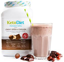 Proteinový nápoj příchuť lískový oříšek a čokoláda 35 porcí