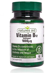 Vitamin B12 - 1000 mcg - sublingvální 90 tablet