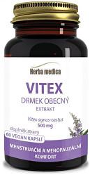 Vitex - Drmek obecný 500 mg - 60 pilulek