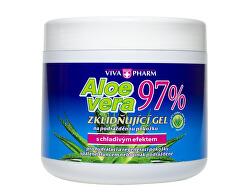 Aloe Vera zklidňující gel s 97% aloe v doze 600 ml