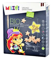 BIO Cereální hvězdičky se šťávou z černého rybízu 200 g