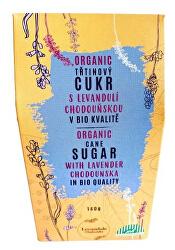 BIO třtinový cukr s Levandulí Chodouňskou 140 g