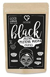 Black Face mask - jílová maska 30 g