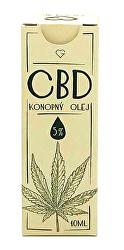 CBD - Konopný olej 5% 10 ml