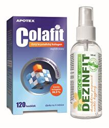 Colafit 120 kostiček + dezinfekce 100 ml