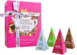 Darčeková kolekcia Classic ružová BIO 12 pyramidek