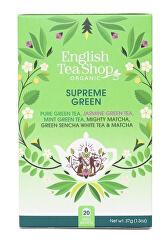 MIX vrcholně zelených čajů, BIO 20 sáčků