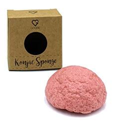 Buretele Konjac - argilă roz