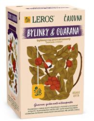 Čajovna Bylinky a Guarana 20 x 2 g