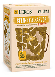 Čajovna Bylinky a Zázvor s lípou 20 x 2 g
