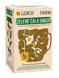 Čajovna Zelený čaj Ginkgo 20 x 2 g