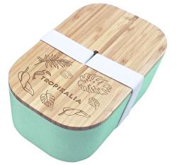 Lunch Box L - mintová barva