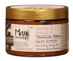 MAUI vyhlazující máslo pro kudrnaté vlasy + Vanil.lusky 340 g
