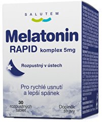 Melatonin Rapid komplex 5 mg 30 tablet