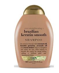 Zjemňující šampon brazilský keratin 385 ml
