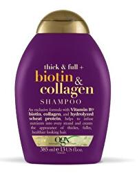 Šampon biotin-kolagen 385 ml pro husté a plné vlasy