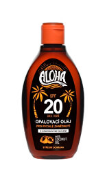 ALOHA bronz opalovací olej OF 20 200 ml