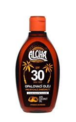 ALOHA bronz opalovací olej OF 30 200 ml