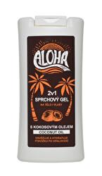 Gel de duș ALOHA  2în1 cu ulei de cocos 200 ml