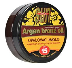 Vital opalovací máslo Argan bronz oil OF 15 200 ml