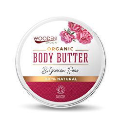 Unt de corp Trandafir bulgăresc WoodenSpoon 100 ml