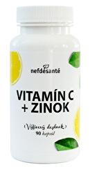 Vitamín C + Zinok 90 kapsúl