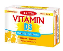 Vitamín D3 1000 IU 30 kapsúl
