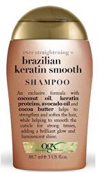 Zjemňující šampon s brazil.keratinem 88 ml mini
