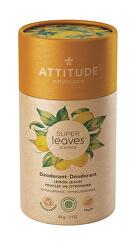 Přírodní tuhý deodorant Super Leaves - citrusové listy 85 g