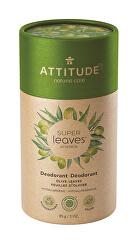 Přírodní tuhý deodorant Super Leaves - olivové listy 85 g