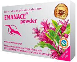 Emanace powder - zelený čaj, kurkuma, pepř 50 g