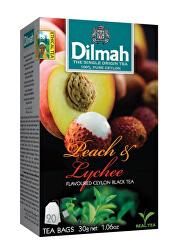 Čaj černý, Broskev, Lychee 20 ks