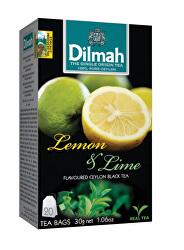 Čaj černý, Citron, Limetka 20 ks