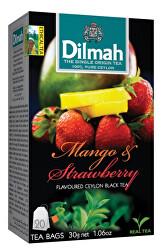 Čaj černý, Mango, Jahoda 20 ks