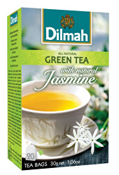 Čaj zelený Jasmín 20 ks
