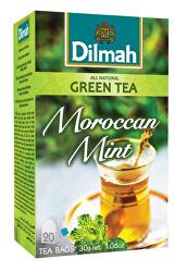 Čaj zelený Marocká máta 20 ks