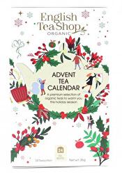 Adventný kalendár Biela škatuľka 25 sáčkov