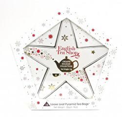 Darčeková kolekcia Hviezda červenozlatá BIO 16 vrecúšok