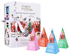 Darčeková kolekcia Vianočné biela BIO 12 pyramidek