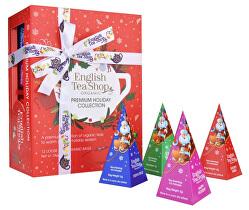 Dárková kolekce Santa na saních BIO 12 pyramidek