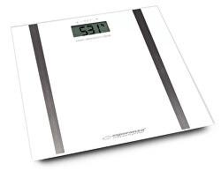 Osobní elektronická váha s měřením tuku Samba - bílá