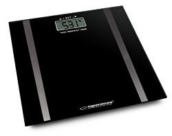 Osobní elektronická váha s měřením tuku Samba - černá