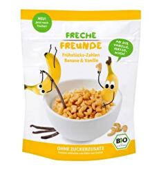 BIO Cereálie - chrumkavá čísla - Banán a vanilka 125 g